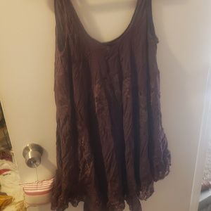 Free people tank tunic